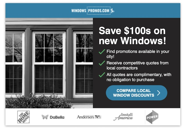 Find Windows Promotions In Your Area
